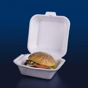 embalagem de isopor para hamburguer - embalagem termica