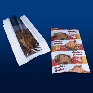 embalagem de papel para frango