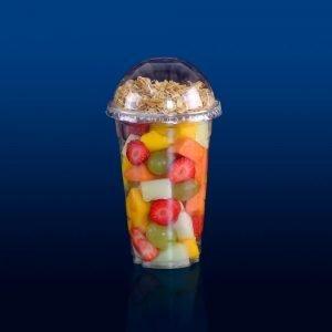 copo descartável salada milk shake