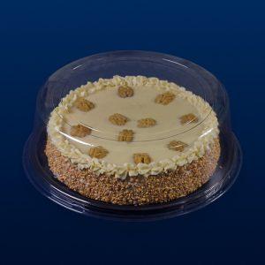 embalagem bolo transparente