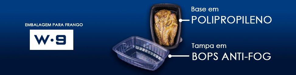 embalagem para frango