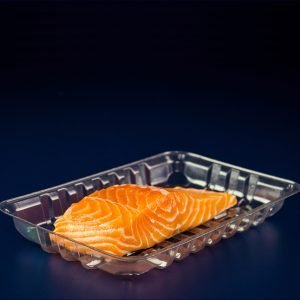 bandeja para frios e peixes