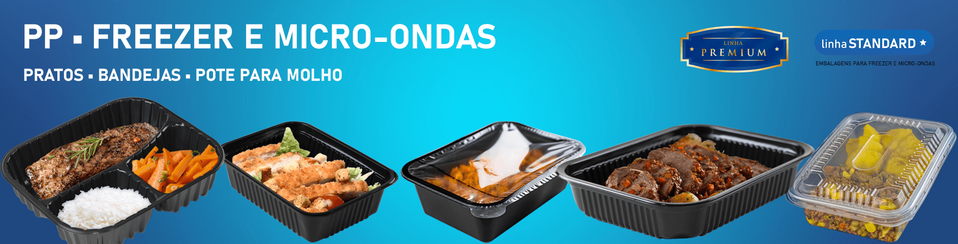 marmita para freezer e micro-ondas